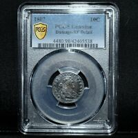 1807 DRAPED BUST DIME  PCGS EXTRA FINE  DETAILS  10C SILVER  TYPE COIN TRUSTED