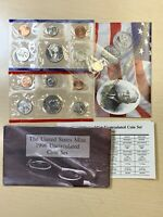 1996 P D US MINT UNCIRCULATED COIN SET WITH WEST POINT DIME