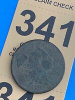 1794 LIBERTY FLOWING HAIR LARGE CENT COIN