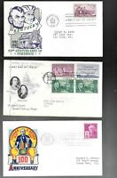 US FDC FIRST DAY COVERS  COLLECTION FROM 1940 'S    LOT OF 1