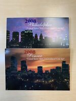 2008 P AND D U. S. MINT  28 COIN UNCIRCULATED  MINT SET