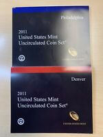 2011 P&D UNITED STATES MINT UNCIRCULATED COIN SETS   28 COIN