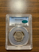 1886-P LIBERTY NICKEL V-NICKEL 5C PCGS PROOF PR 67 PLUS CAC TYPE 2, WITH CENTS