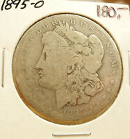 1895-O MORGAN SILVER DOLLAR $1  KEY DATE COIN LOOKS AG ABOUT GOOD