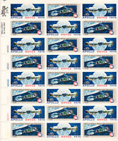 1975 APOLLO SOYUZ STAMP SHEET   PACK OF 100 SHEETS