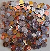 ONE POUND OF FOREIGN WORLD COINS   BONUS SILVER COIN IF YOU PURCHASE TWO