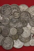 1 STANDARD OUNCE 90  SILVER JUNK COINS 1 HALF DOLLAR INCLUDED BULLION HOT ITEM