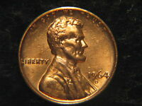 1964 D LINCOLN MEMORIAL PENNY UNCIRCULATED