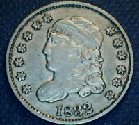 1832 LM 6 BREEN 11 CAPPED BUST HALF DIME   LM RARITY 4   NICE LIGHT GRAY