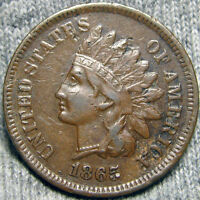 1865 INDIAN CENT TYPE PENNY ---  ---  P304