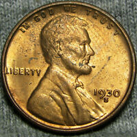 1930-S LINCOLN CENT WHEAT CENT  --- STUNNING --- P781