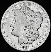 1889 O MORGAN SILVER DOLLAR.BETTER GRADE 846