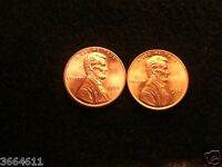 1984 P&D LINCOLN MEMORIAL CENT RED BRILLIANT UNCIRCULATED
