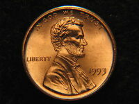 1993  LINCOLN MEMORIAL PENNY UNCIRCULATED
