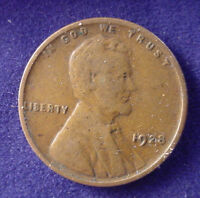 1928  P PHILADLEPHIA LINCOLN COPPER 1 ONE CENT WHEAT CENT PENNY LOWCOMBSHIP FR7