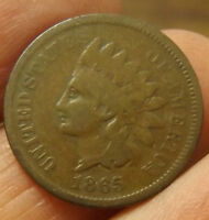 1865 INDIAN CENT G