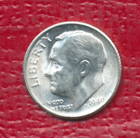 1949 S ROOSEVELT SILVER DIME STUNNING UNCIRCULATED DIME !