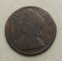 GREAT BRITAIN 1/2 PENNY 1736  DD101