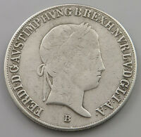 GERMANY  20 KREUZER 1843 B  HM 351