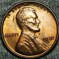1930-S LINCOLN CENT WHEAT CENT    ---- BU --- K607