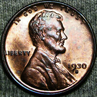 1930-S LINCOLN CENT WHEAT CENT    ---- BU --- K610