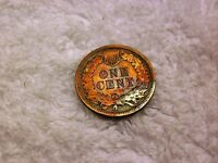 1898 INDIAN HEAD CENT PENNY   TONED