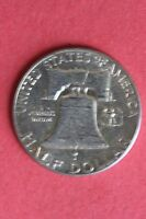 1952 P 90 SILVER BEN FRANKLIN HALF DOLLAR ADDITIONAL ITEMS SHIP FOR FREE 269