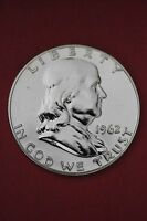 1962 P PROOF BEN FRANKLIN HALF DOLLAR 1.99 FLAT RATE SHIP EXACT COIN PICTURED 12