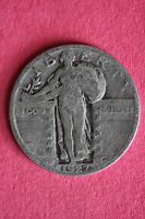 1927-P STANDING LIBERTY QUARTER 90 SILVER $1.99 FLAT RATE SHIPPING COIN 190