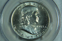 1953 D FRANKLIN HALF DOLLAR PCGS MS64 FBL FULL BELL LINE