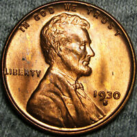 1930-S LINCOLN CENT WHEAT CENT ---- STUNNING ---- B426 MSQ