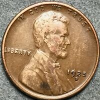 1925 D LINCOLN WHEAT CENT PENNY. G471 FREE S&H