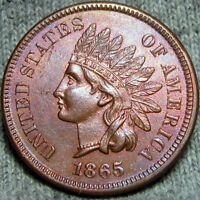1865 INDIAN CENT TYPE PENNY --- MAKE AN OFFER ---  P307