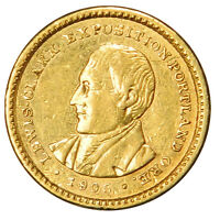 1905 $1 LEWIS & CLARK GOLD COMMEMORATIVE PRICED FOR FAST SALE