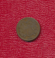 1865 TWO CENT 2 CENT PIECE   CIRCULATED TWO CENT SHIPS FREE
