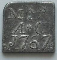 GREAT BRITAIN BERWICKSHIRE HORNDEAN 1787 TOKEN     GW 249