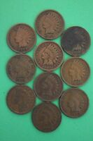 1897 1898 1899 1900 1901 1902 1903 1905 1906 1907 INDIAN HEAD CENTS PENNIES 14