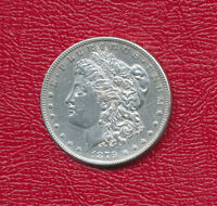 1879-S MORGAN SILVER DOLLAR REVERSE OF 1878 LIGHTLY CIRCULATED SHIPS FREE