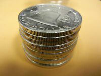 20 FRANKLIN HALF DOLLAR COINS SILVER 1953 S ALMOST UNC OR BETTER $10 FACE VALUE