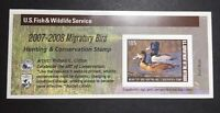 RW74A 2007   2008   US FEDERAL DUCK STAMP   POST OFFICE FRESH