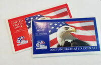 2003 P & D US MINT UNCIRCULATED COIN SET  1843