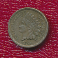 1860 INDIAN HEAD CENT VERY NICE CIRCULATED EARLY SMALL CENT
