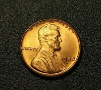 1948 D  LINCOLN WHEAT PENNY W15828