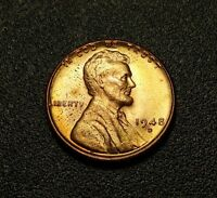 1948 D  LINCOLN WHEAT PENNY W15826