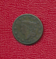 1822 CORONET HEAD LARGE CENT A NICE CIRCULATED LARGE CENT
