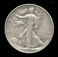 1940-S     WALKING LIBERTY HALF SILVER 219-305