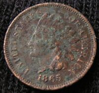 1865 INDIAN HEAD CENT - EXTRA FINE  DETAILS 13334