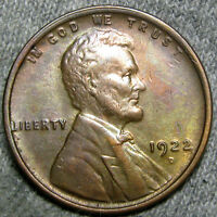 1922 D LINCOLN WHEAT CENT PENNY      STUNNING DETAILS      M094