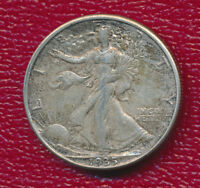 1935 D SILVER WALKING LIBERTY HALF DOLLAR ABOUT UNCIRCULATED