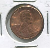 1984 LINCOLN SNAKE CENT  UNC